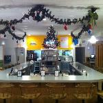The lunch counter during Chrismas 2011