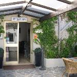 Accueil de l'hôtel Costa Verde à Moriani Plage San Nicolao en Corse
