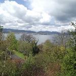 View from battlement