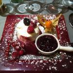 le dessert tres bon