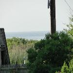 view of ocean from verandah