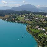 Faaker See mit Naturpark Dobratsch