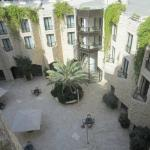 View of the inner courtyard