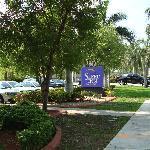 Surrounding area of hotel
