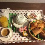 petit dejeuner en chambre (1 personne)