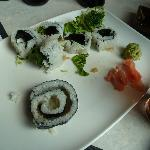 4.)  So we gave up on our ridiculously over riced under fished Godzilla sized maki sushi disaste