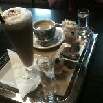 ice coffee & cappuccino as served at Boon.