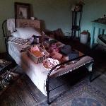 one of the bedrooms. )we were told no pics) ;)