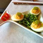 Deviled Eggs with Caviar, Sir?