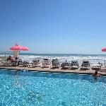 Pool- overlooks beach
