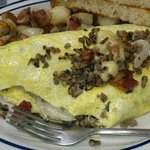 Wild Rice Omelet - Amazing, you will not regret ordering this!!