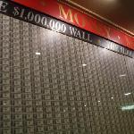 Horseshoe Casino Million Dollar Wall
