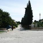 une des rues internes qui mène à Supetar