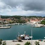 port de Supetar vu du ferry