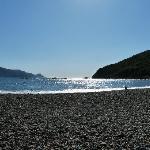 La plage à 5 mn
