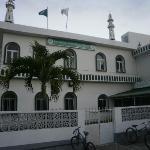 Une mosquée juste à coté de Pereybere Beach - ML
