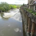 View from tea shoppe on Pultenay Bridge