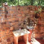Il fantastico bagno del Coconut Bungalow