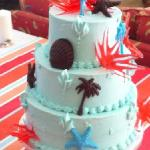 white cho cake