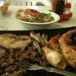 fritto misto di pesce (unica pecca:maionese scaduta da mesi!!!)