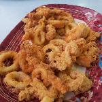 fried calamari/squid