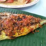 bbq fish with sambal