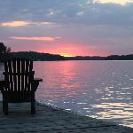 A Muskoka Sunset