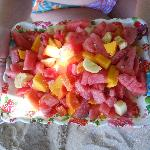 fruit salad n quarta praia