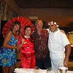 Restaurant japones , nuestra amiga Daylis
