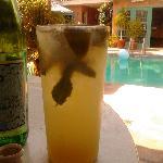 Mojito's poolside