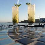 mojitos overlooking the bay