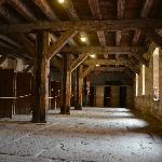 Detention room for longer term internees
