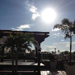auf dem Sonnendeck