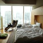 High floor room with view