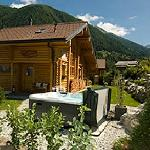 chalet cygnet in the summer