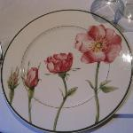 One of the lovely plates