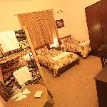 Four Bed Family Room or Dorm