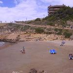 Una playa de Salou
