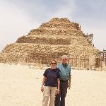 By the Pyramid of Sakkara