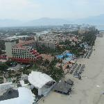 view of property from parasailing