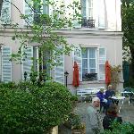 hotel garden - sitting