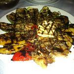 Some grilled vegtables