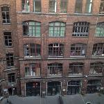 old factory building revalued into cool hotel