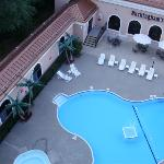 Outdoor pool from my balcony