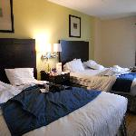 Chambre Holiday Inn Express Boston