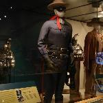 Lone Ranger costume, saddle, gun