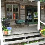 Gracie's front porch