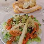 Large starter salad