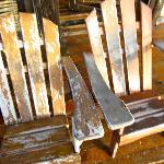 Sillas que se encuentran el el Deck Cabaña 4