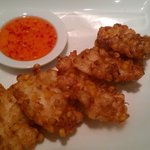 Corn with Crab Fritter; OMG!